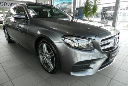 Mercedes-Benz E 220 d T AMG LINE FAHRASSISTENZ-P. PANO NP 73!