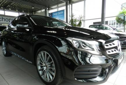 Mercedes-Benz GLA 180 AMG LED NAVI 7G KEYLESS 6d-Temp  Urban